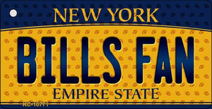 Bills Fan New York State License Plate Wholesale Key Chain KC-10771