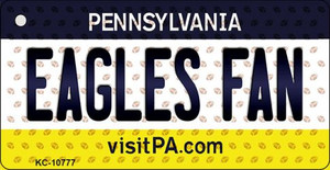 Eagles Fan Pennsylvania State License Plate Wholesale Key Chain KC-10777