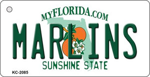 Marlins Florida State License Plate Wholesale Key Chain KC-2085