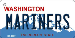Mariners Washington State License Plate Wholesale Key Chain KC-2087