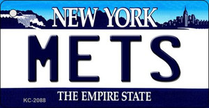 Mets New York State License Plate Wholesale Key Chain KC-2088