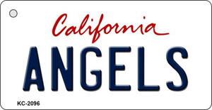 Angels California State License Plate Wholesale Key Chain KC-2096