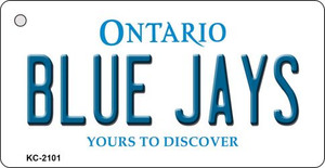 Blue Jays Ontario State License Plate Wholesale Key Chain KC-2101