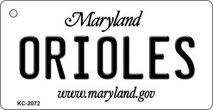 Orioles Maryland State License Plate Wholesale Key Chain KC-2072