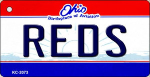 Reds Ohio State License Plate Wholesale Key Chain KC-2073