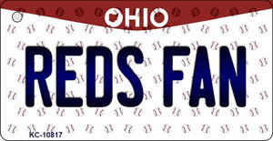 Reds Fan Ohio State License Plate Wholesale Key Chain KC-10817