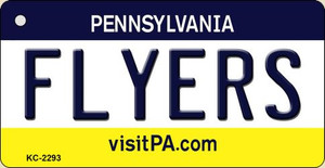 Flyers Pennsylvania State License Plate Wholesale Key Chain KC-2293