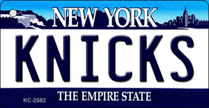 Knicks New York State License Plate Wholesale Key Chain KC-2582