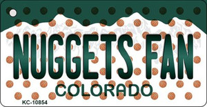 Nuggets Fan Colorado State License Plate Wholesale Key Chain KC-10854