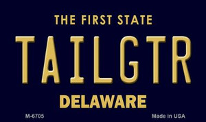 Tailgtr Delaware State License Plate Wholesale Magnet M-6705