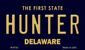 Hunter Delaware State License Plate Wholesale Magnet M-6720