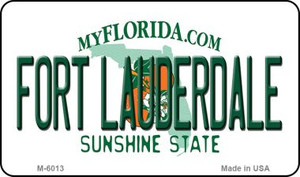 Fort Lauderdale Florida State License Plate Wholesale Magnet M-6013