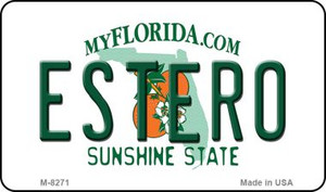 Estero Florida State License Plate Wholesale Magnet M-8271