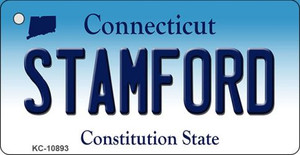 Stamford Connecticut State License Plate Wholesale Key Chain