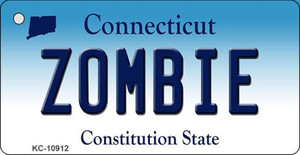 Zombie Connecticut State License Plate Wholesale Key Chain KC-10912