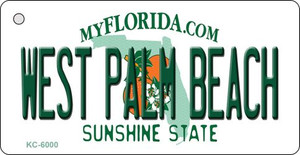 West Palm Beach Florida State License Plate Wholesale Key Chain