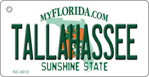 Tallahassee Florida State License Plate Wholesale Key Chain KC-6012