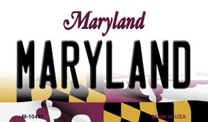 Maryland State License Plate Wholesale Magnet