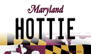 Hottie Maryland State License Plate Wholesale Magnet