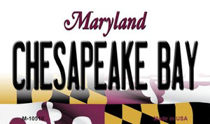 Chesapeake Bay Maryland State License Plate Wholesale Magnet