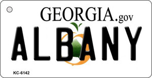 Albany Georgia State License Plate Novelty Wholesale Key Chain KC-6142