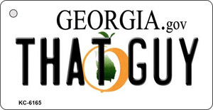 That Guy Georgia State License Plate Novelty Wholesale Key Chain KC-6165