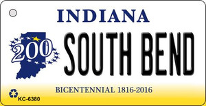 South Bend Indiana State License Plate Novelty Wholesale Key Chain KC-6380