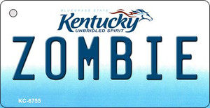 Zombie Kentucky State License Plate Novelty Wholesale Key Chain KC-6755