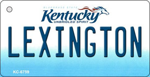 Lexington Kentucky State License Plate Novelty Wholesale Key Chain KC-6759