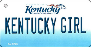 Kentucky Girl State License Plate Novelty Wholesale Key Chain KC-6765