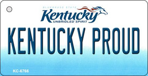 Kentucky Proud State License Plate Novelty Wholesale Key Chain KC-6766