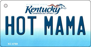 Hot Mama Kentucky State License Plate Novelty Wholesale Key Chain KC-6769