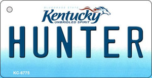 Hunter Kentucky State License Plate Novelty Wholesale Key Chain KC-6775