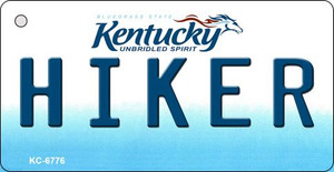 Hiker Kentucky State License Plate Novelty Wholesale Key Chain KC-6776