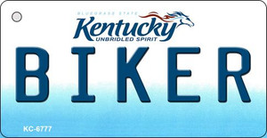 Biker Kentucky State License Plate Novelty Wholesale Key Chain KC-6777
