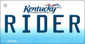 Rider Kentucky State License Plate Novelty Wholesale Key Chain KC-6778