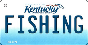 Fishing Kentucky State License Plate Novelty Wholesale Key Chain KC-6779