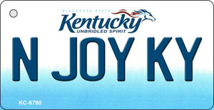 N Joy KY Kentucky State License Plate Novelty Wholesale Key Chain KC-6780