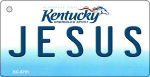 Jesus Kentucky State License Plate Novelty Wholesale Key Chain KC-6791