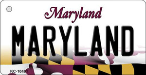 Maryland State License Plate Wholesale Key Chain KC-10461