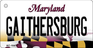 Gaithersbury Maryland State License Plate Wholesale Key Chain KC-10472