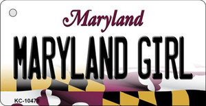 Maryland Girl Maryland State License Plate Wholesale Key Chain KC-10478