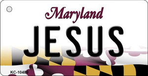Jesus Maryland State License Plate Wholesale Key Chain KC-10489