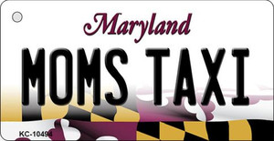 Moms Taxi Maryland State License Plate Wholesale Key Chain KC-10494
