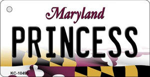 Princess Maryland State License Plate Wholesale Key Chain KC-10495