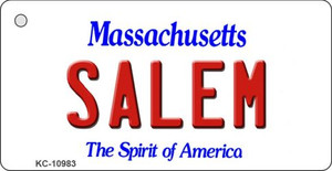 Salem Massachusetts State License Plate Wholesale Key Chain KC-10983