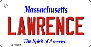 Lawrence Massachusetts State License Plate Wholesale Key Chain KC-10989