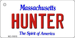 Hunter Massachusetts State License Plate Wholesale Key Chain KC-11013