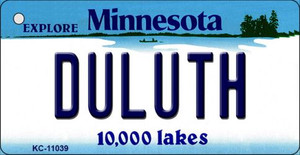 Duluth Minnesota State License Plate Novelty Wholesale Key Chain KC-11039