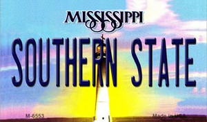Southern State Mississippi State License Plate Wholesale Magnet M-6553